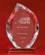 IAIR Awards 2014 - The Best Forex Broker in Eastern Europe